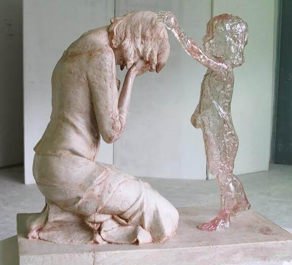 """The Child Who Was Never Born"" by Martin Hudáčeka."